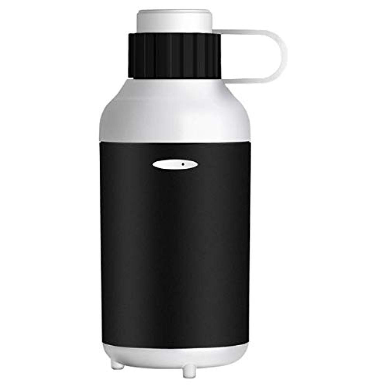 超音波空気加湿器usbミニアロマテラピーマシンアトマイザーミュートデスクトップ寝室ホームカー空気清浄機,White