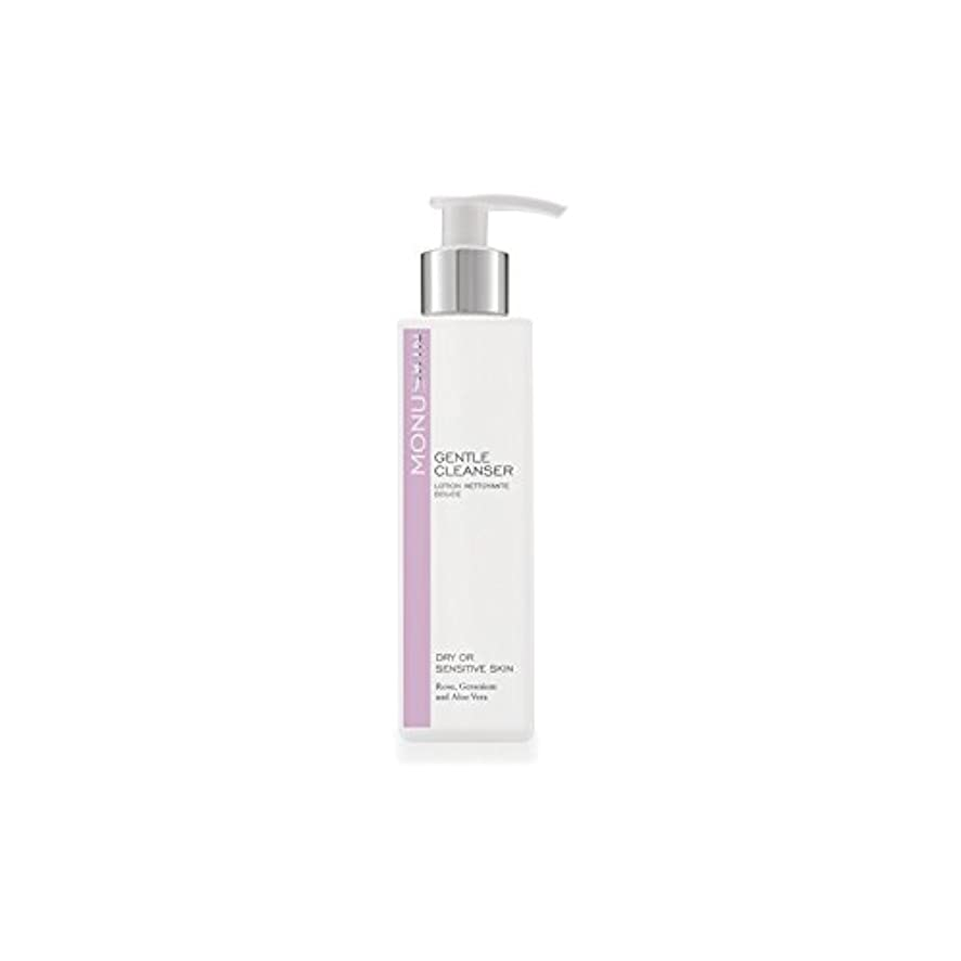 Monu Gentle Cleanser (180ml) (Pack of 6) - ジェントルクレンザー(180ミリリットル) x6 [並行輸入品]