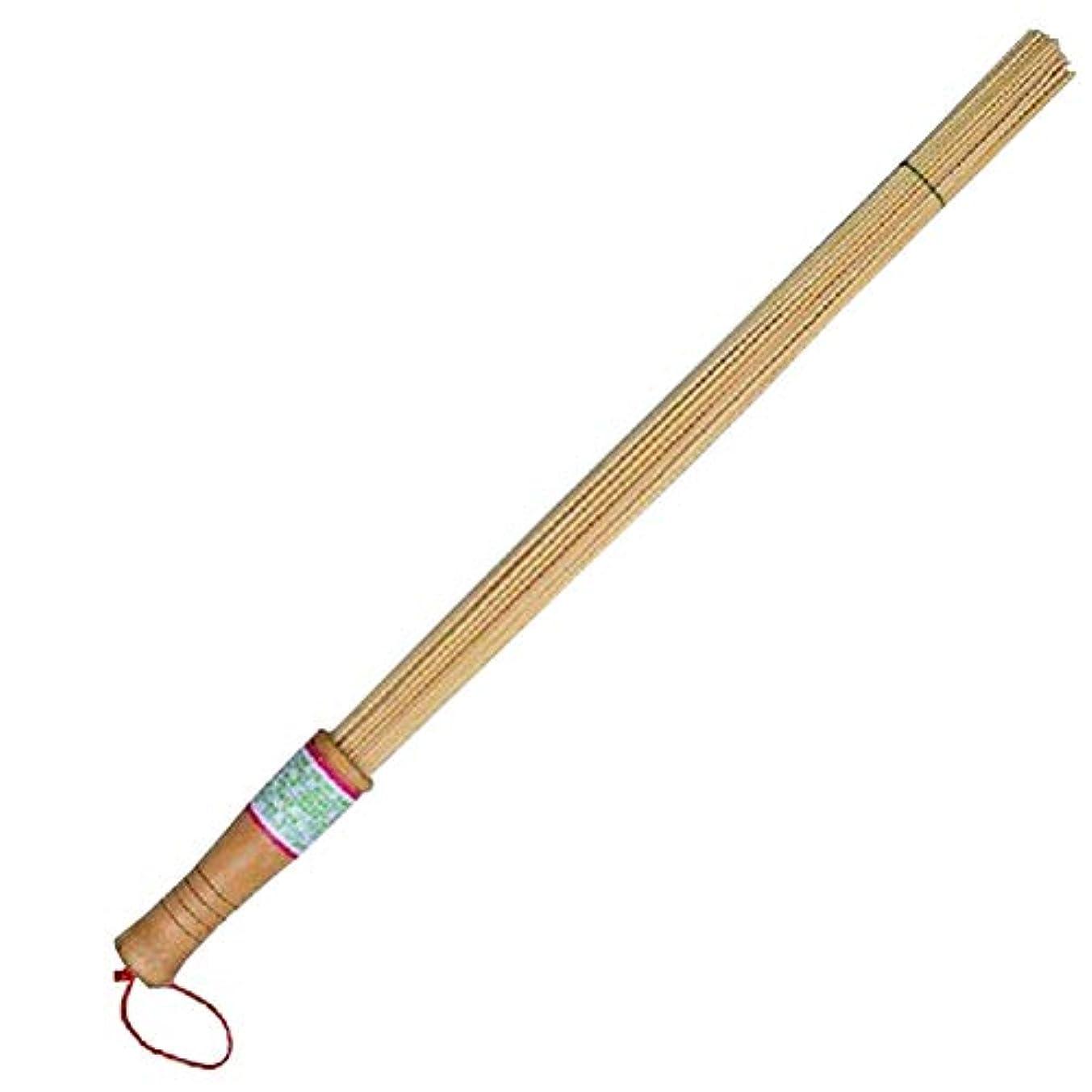 褐色遺産シャイニングHEALIFTY 緩和のためのタケマッサージの棒のAcupointのマッサージャーの背部療法のノッカー