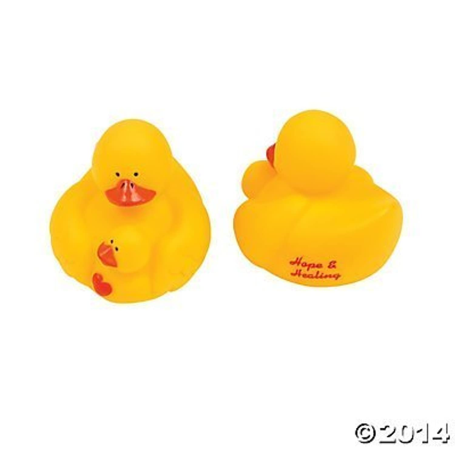 Hope and Healing Rubber Ducks - 12 pcs by Rubber Ducky [並行輸入品]