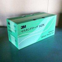【ケース】3M 143N マスキングテープ 40MM×18M (10小箱)