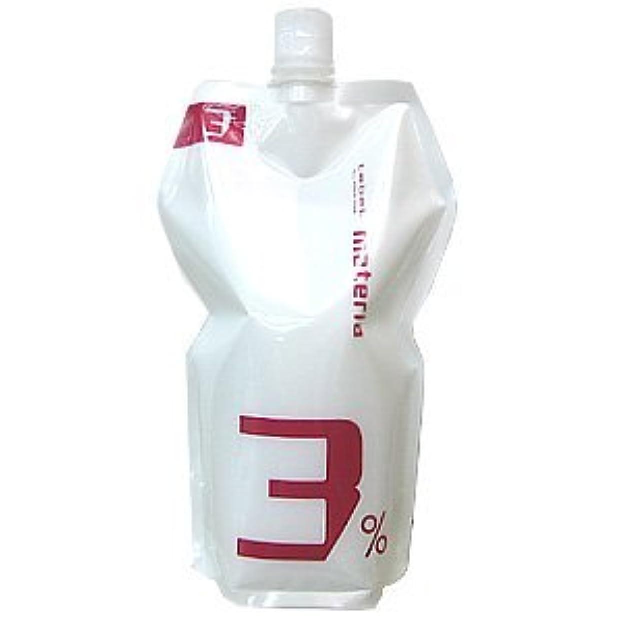 こどもの宮殿塩不当ルベル マテリア オキシ 1000ml 3% 【ヘアカラー2剤】【業務用】【医薬部外品】