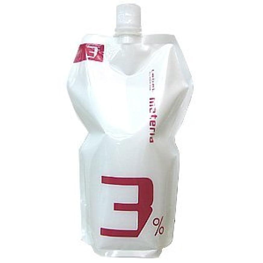 影のある傾いたアノイルベル マテリア オキシ 1000ml 3% 【ヘアカラー2剤】【業務用】【医薬部外品】