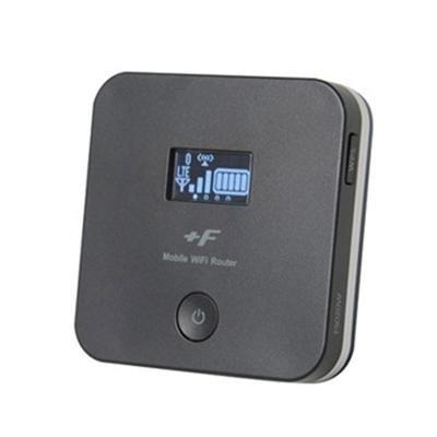 富士ソフト モバイルWiFiルーター +F FS020W マットブラック