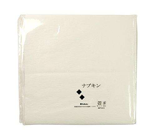 ナプキン紙 白平判 波型 30*30cm(1000枚入)