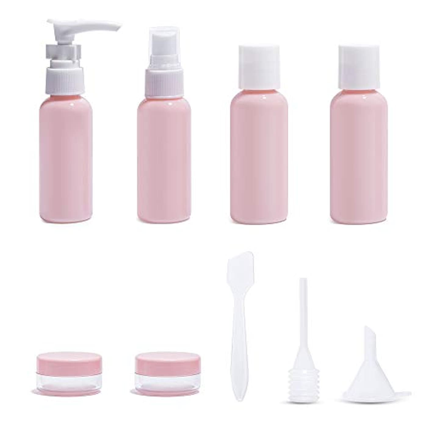 非公式まだ免疫Diolan トラベルボトル 小分けボトル コスメ用詰替え容器 6本セット ピンク 旅行 出張