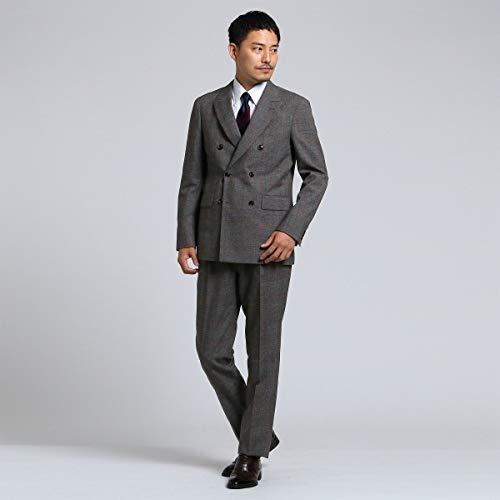 タケオキクチ(TAKEO KIKUCHI) Mスーツ(【PNJ】紡格子 6Bダブルスーツ[メンズスーツダブル])