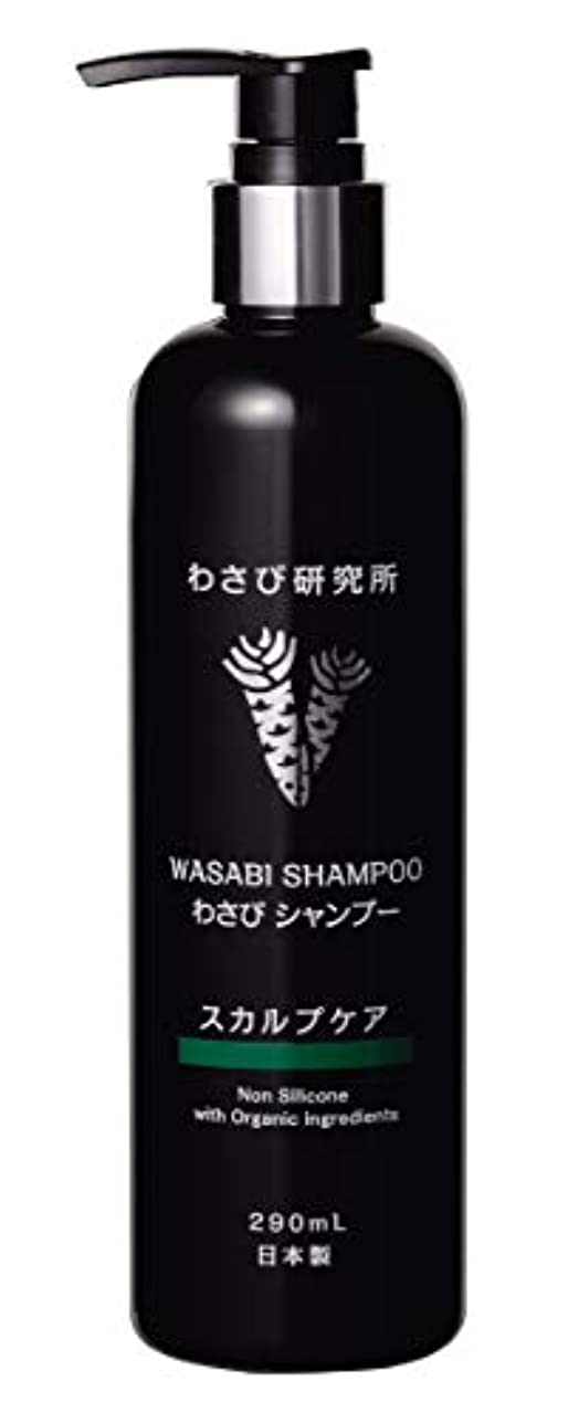 感謝する雹答え日本の研究開発 Wasabi Shampoo わさびシャンプー 290mL, わさび研究所, Isosaponarin イソサポナリン