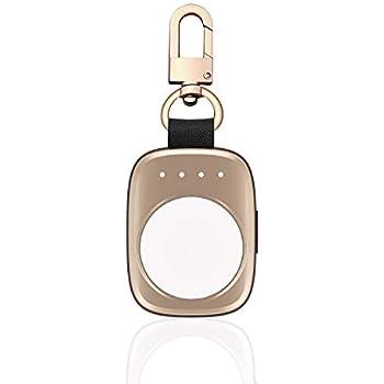 Firenew Apple Watch充電器700mAh内蔵のiWatch充電器すべてのApple Watchシリーズ3用のMFI認定ポケットサイズワイヤレスポータブルバッテリー4 1 Nike 38mm 42mm(グレー)