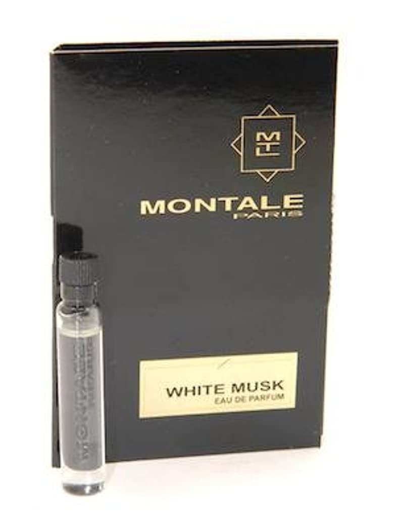 店主鎮痛剤美人Montale White Musk EDP Vial Sample 2ml(モンタル ホワイト ムスク オードパルファン 2ml)[海外直送品] [並行輸入品]