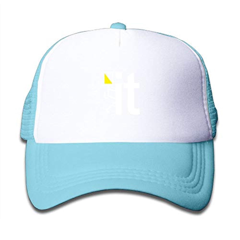 Fck It 素敵 かわいい おもしろい ファッション 派手 メッシュキャップ 子ども ハット 耐久性 帽子 通学 スポーツ