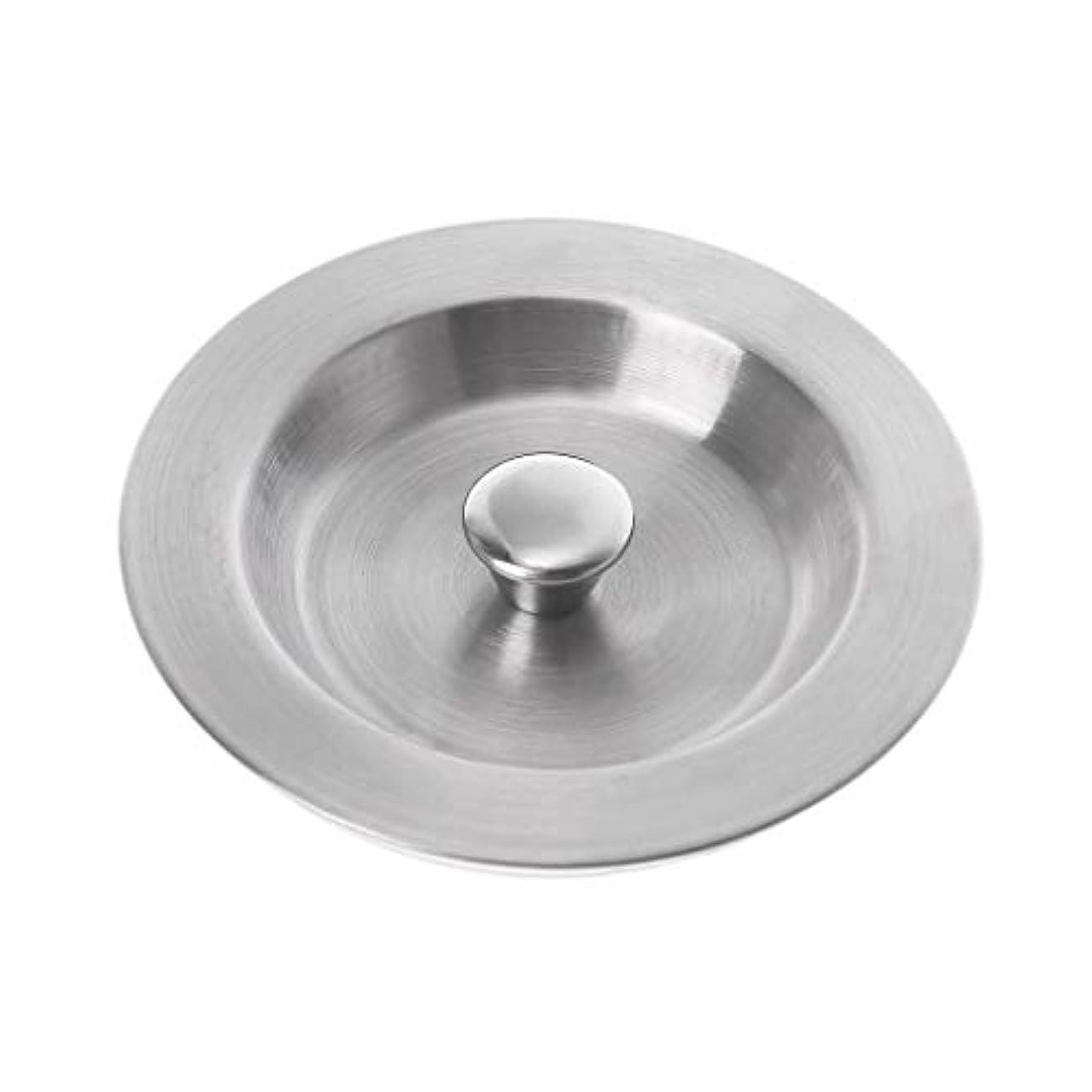 評価可能可決縁石Lamdooキッチンステンレス鋼浴槽フィルターシンクフロアプラグランドリーバスルームウォーターストッパーキャップツール