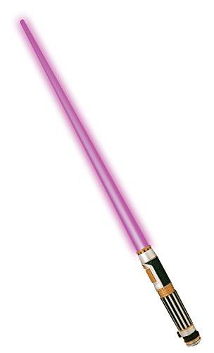 『メイス・ウィンドゥ ライトセーバー Rubies社製 おもちゃ 紫 パープル 光る 武器 コスプレ グッズ』の1枚目の画像