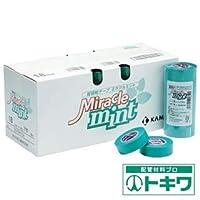 カモ井 マスキングテープ 壁紙・石膏ボード用 4巻入 MIRACLEMINTJAN-30
