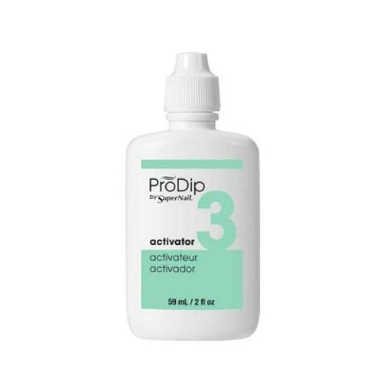 マスタード厚いモネSuperNail ProDip - Activator - 59 ml/2 oz