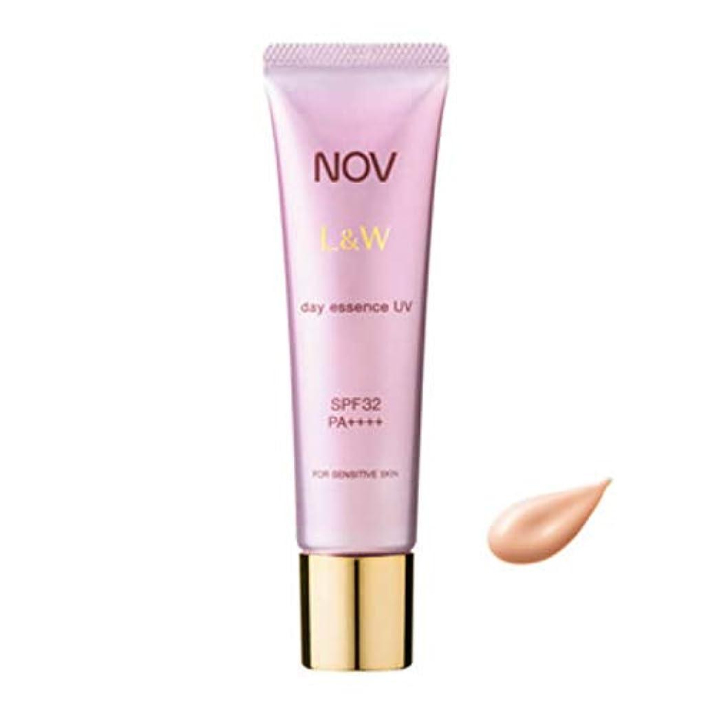 補う平方高度NOV ノブ L&W デイエッセンス UV 30g 日中用美容液 SPF32?PA++++ [並行輸入品]