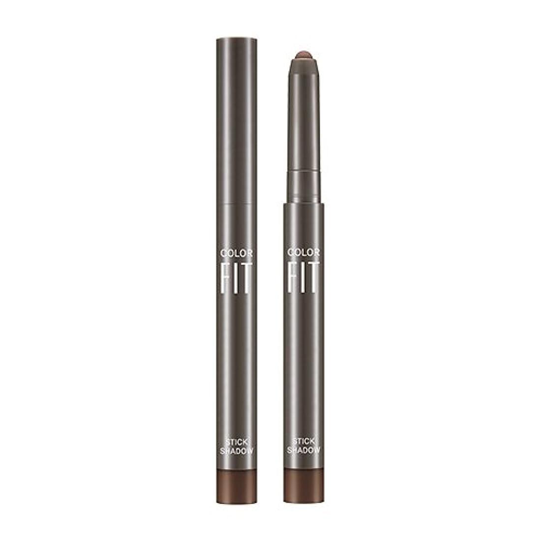 ブルーム士気折MISSHA Color Fit Stick Shadow 1.1g/ミシャ カラー フィット スティック シャドウ 1.1g (#Cacao Pound [MATTE]) [並行輸入品]
