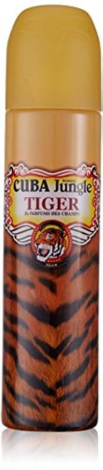 偽善ほめる主導権キューバ ジャングル タイガー EDP スプレー 100ml キューバ CUBA