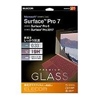 エレコム Surface Pro7 Pro6 Surface Pro 2017年モデル ガラスフィルム 0.33mm TB-MSP7FLGG エレコム