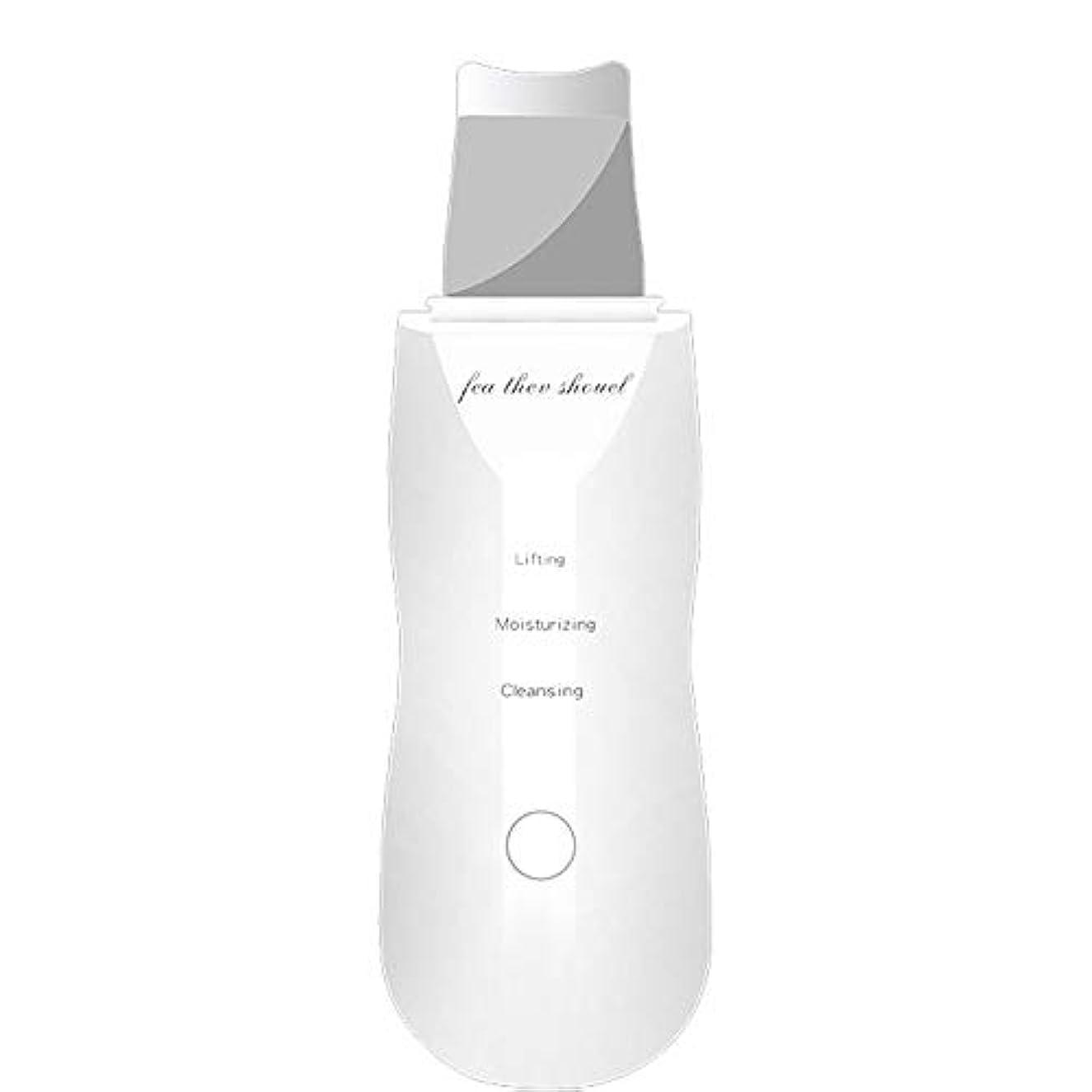 許されるしなやか奨励します顔の皮のスクラバー、気孔の洗剤の電気にきび顔の皮のスクラバーUSBの再充電可能な皮のマッサージのスクラバー