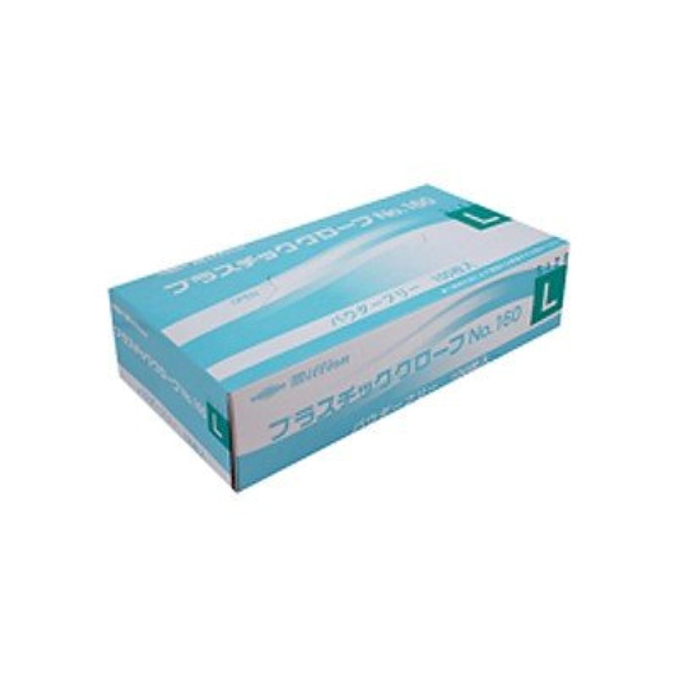 算術効能ある略すミリオン プラスチック手袋 粉無 No.160 L 品番:LH-160-L 注文番号:62741590 メーカー:共和