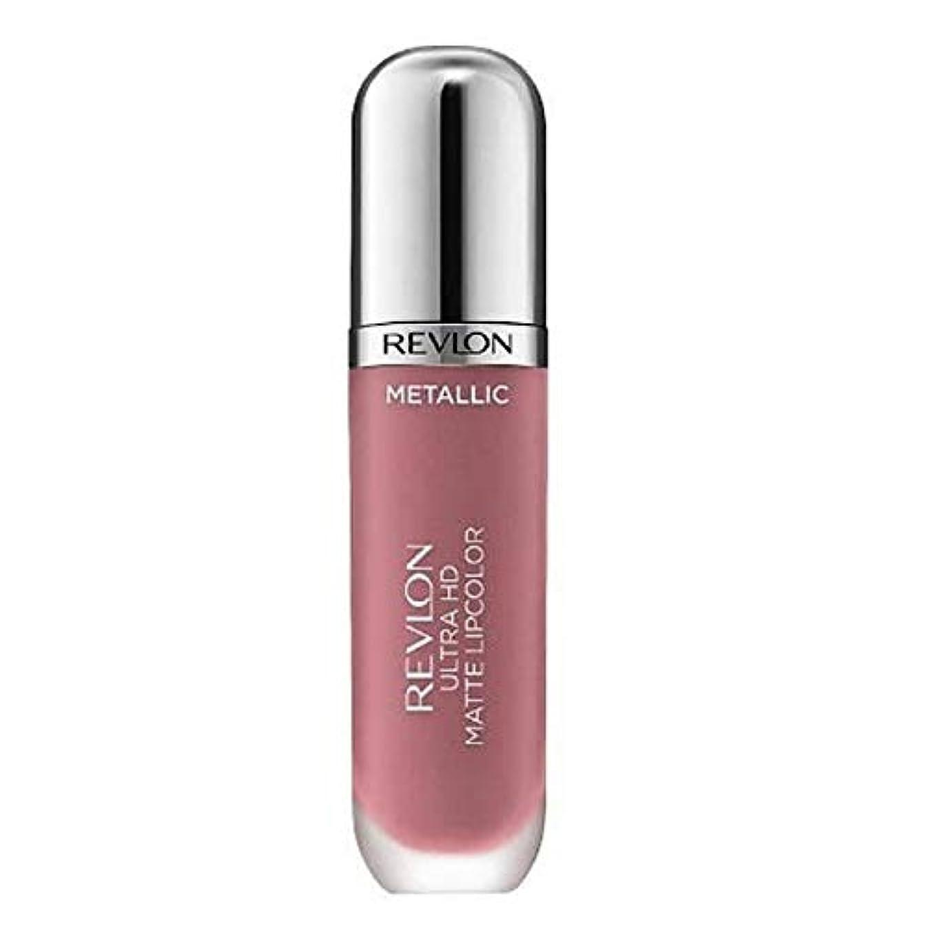 馬鹿ドアミラーに賛成[Revlon ] レブロンウルトラHdマットメタリックリップグラム - Revlon Ultra HD Matte Metallic Lip Glam [並行輸入品]