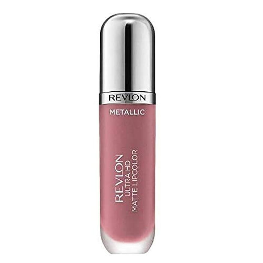 期待する漏れサドル[Revlon ] レブロンウルトラHdマットメタリックリップグラム - Revlon Ultra HD Matte Metallic Lip Glam [並行輸入品]