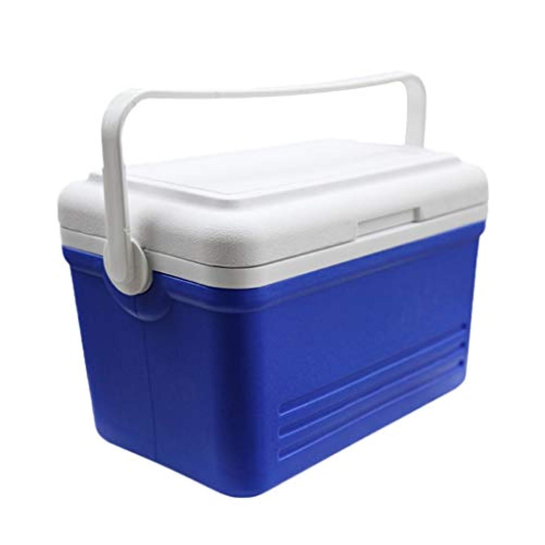 名誉あるアラーム地平線ポータブルクーラークール断熱ボックス、寒いまたは暖かいミニ冷蔵庫冷蔵庫ハンドルと蓋付きキャンプフェスティバルビーチピクニックカー、16 L、19 L (Capacity : 19L)