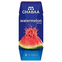 チャバ CHABAA ウォーターメロンジュース (スイカジュース)180ml×12本入り