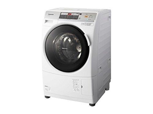 パナソニック 7.0kg ドラム式洗濯乾燥機【左開き】クリスタルホワイトPanasonic プチドラム エコナビ ECONAVI NA-VD150L-W