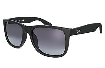 ( レイバン ) Ray-ban サングラス rb4165f (622/8g) ラバーブラック【レイバン国内正規代理店】JUSTIN メンズ レディース ...