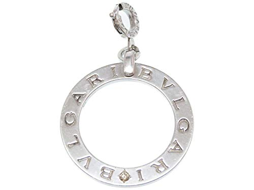 (ブルガリ)BVLGARI チャーム ペンダントトップ シルバー925/ダイヤモンド メンズ 0035 中古