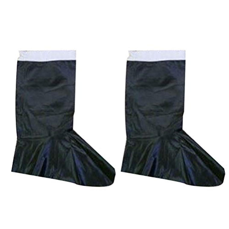 トン肥満卒業PRETYZOOM サンタブーツカバーpuレザーブーツクリスマスサンタクロース衣装アクセサリー