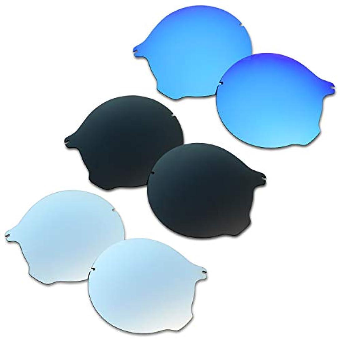 時刻表シリンダーガソリンSOODASE 為に Oakley Tailend サングラス ブルー/ブラック/ぎんいろ 偏光交換使用するレンズ