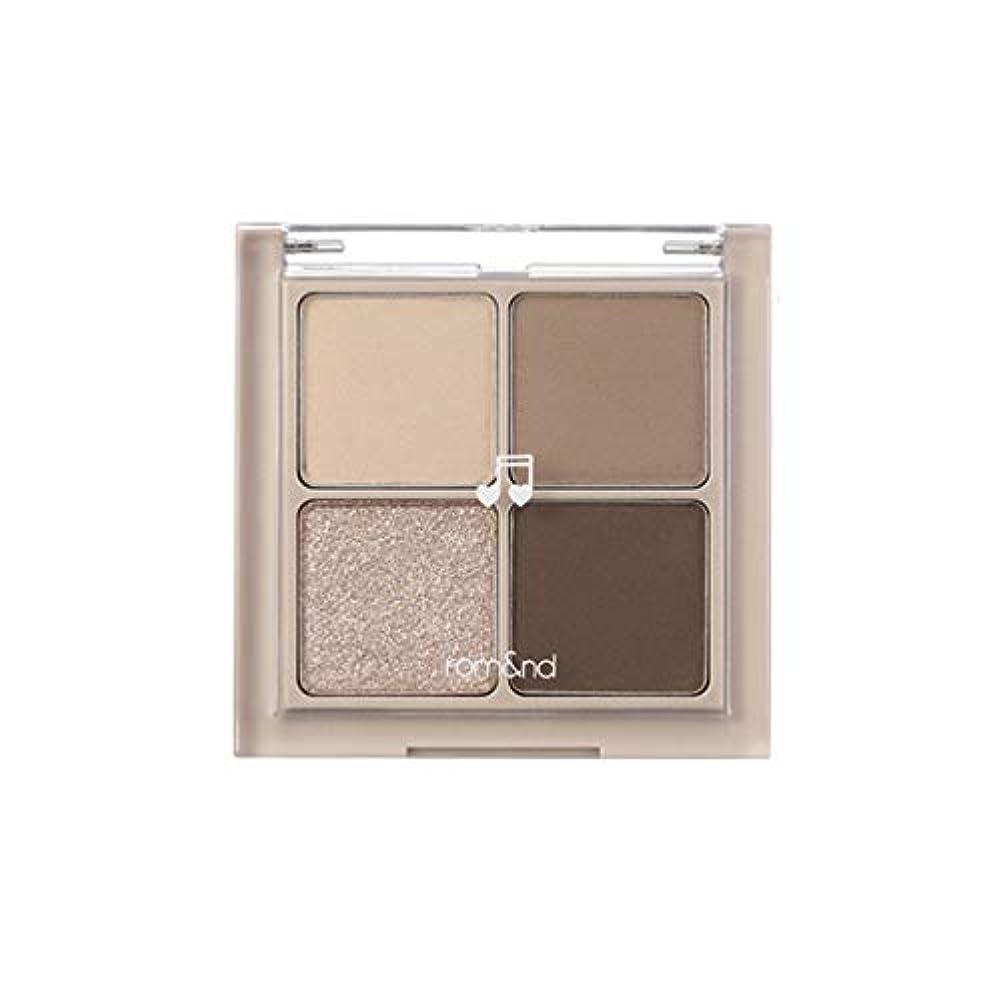 午後白内障社員rom&nd BETTER THAN EYES Eyeshadow Palette 4色のアイシャドウパレット # M2 DRY buckwheat flower(並行輸入品)