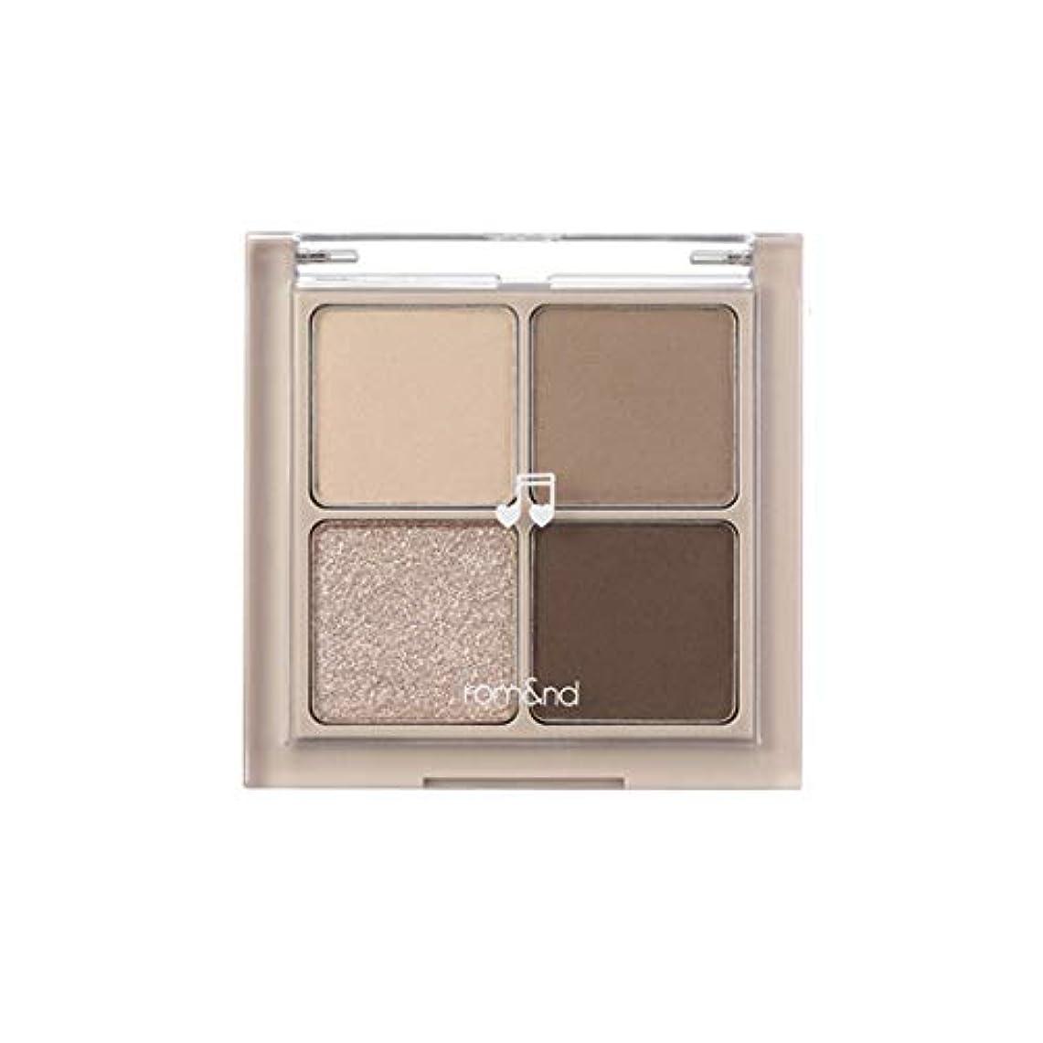 添付賠償北方rom&nd BETTER THAN EYES Eyeshadow Palette 4色のアイシャドウパレット # M2 DRY buckwheat flower(並行輸入品)