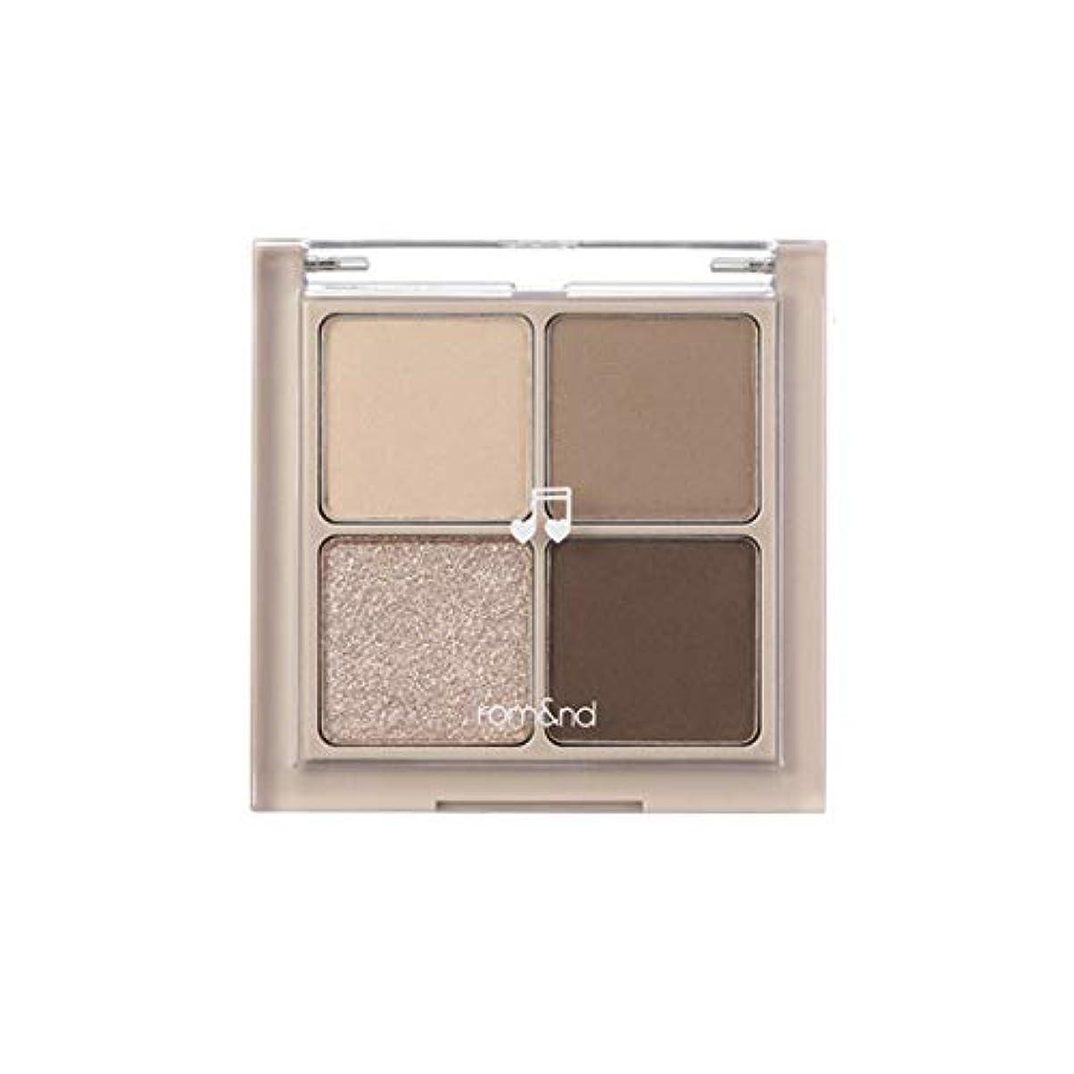 模倣寸法ハックrom&nd BETTER THAN EYES Eyeshadow Palette 4色のアイシャドウパレット # M2 DRY buckwheat flower(並行輸入品)