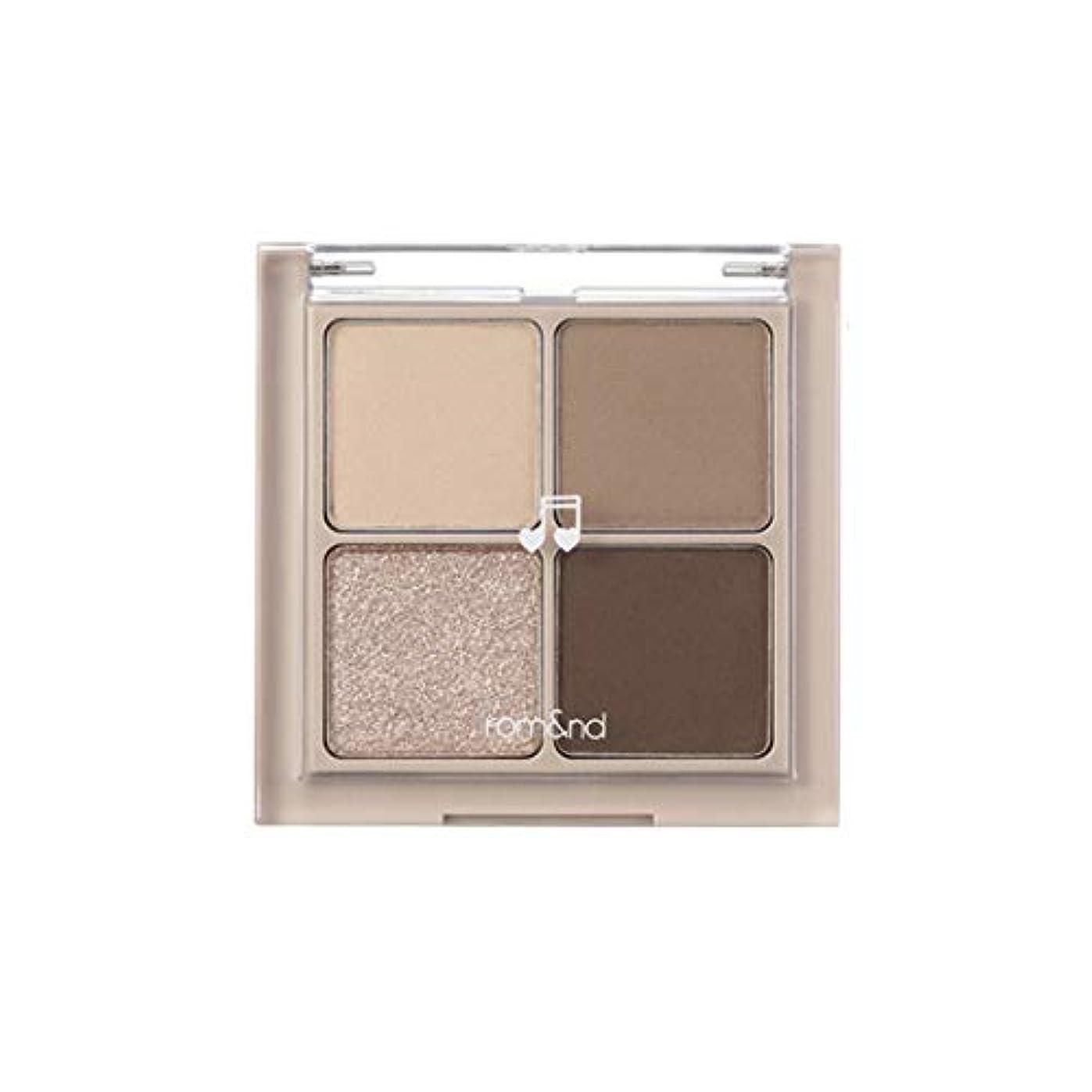 バクテリアつば独創的rom&nd BETTER THAN EYES Eyeshadow Palette 4色のアイシャドウパレット # M2 DRY buckwheat flower(並行輸入品)