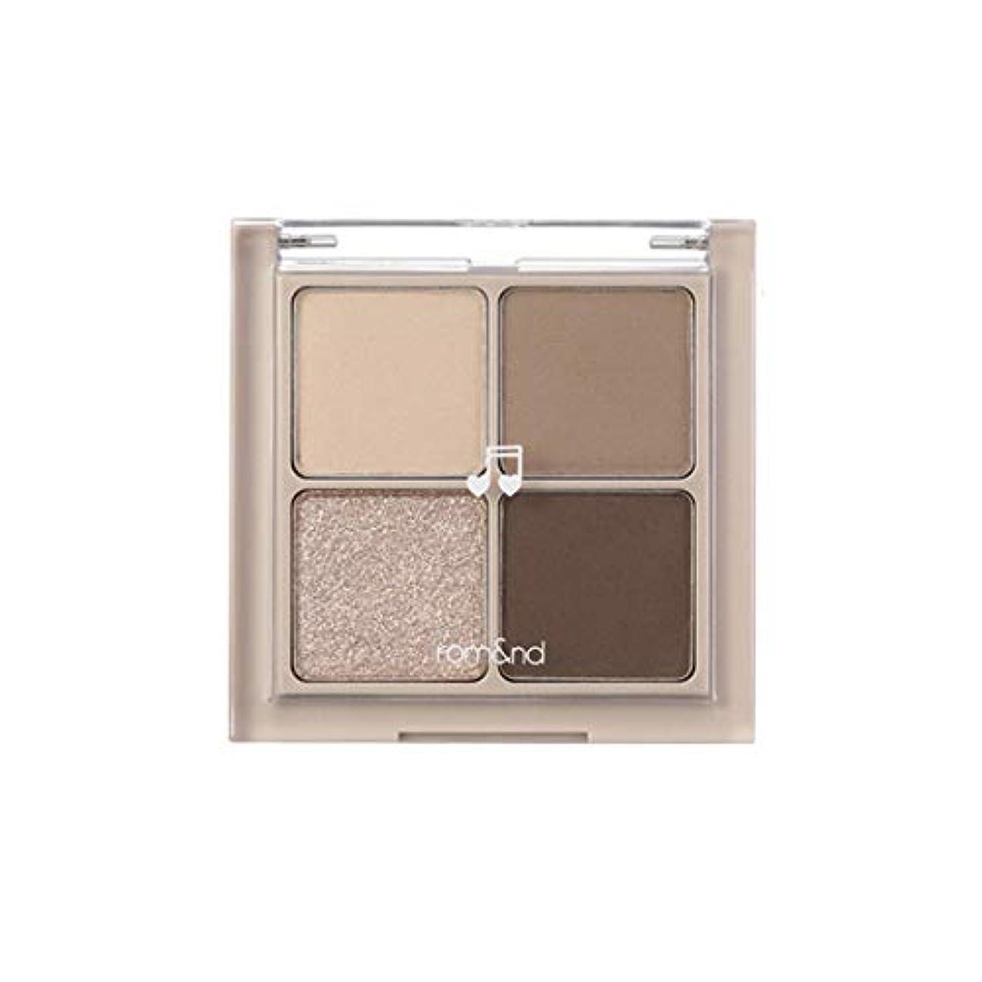 める乳白色はげrom&nd BETTER THAN EYES Eyeshadow Palette 4色のアイシャドウパレット # M2 DRY buckwheat flower(並行輸入品)
