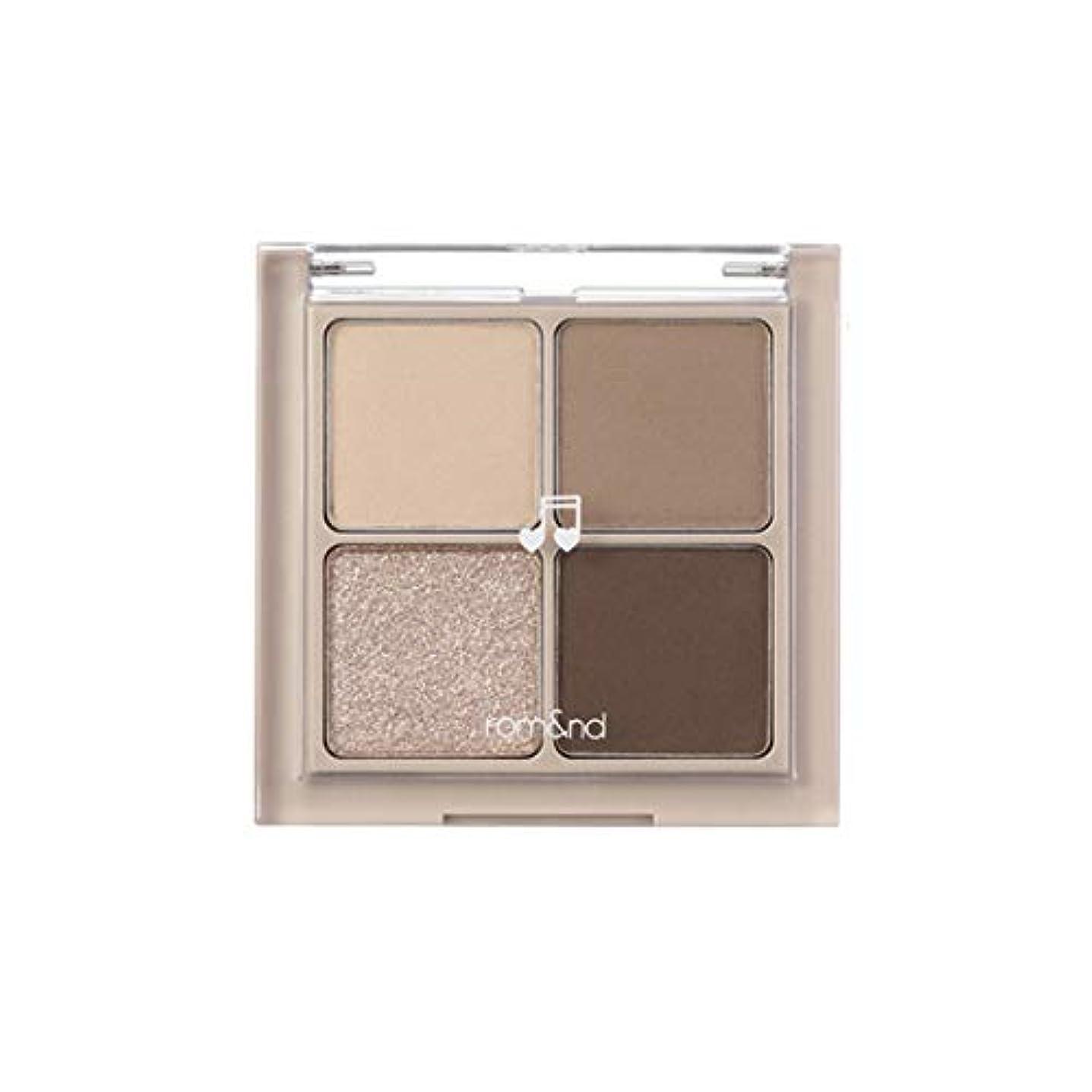 じゃない委員長古いrom&nd BETTER THAN EYES Eyeshadow Palette 4色のアイシャドウパレット # M2 DRY buckwheat flower(並行輸入品)