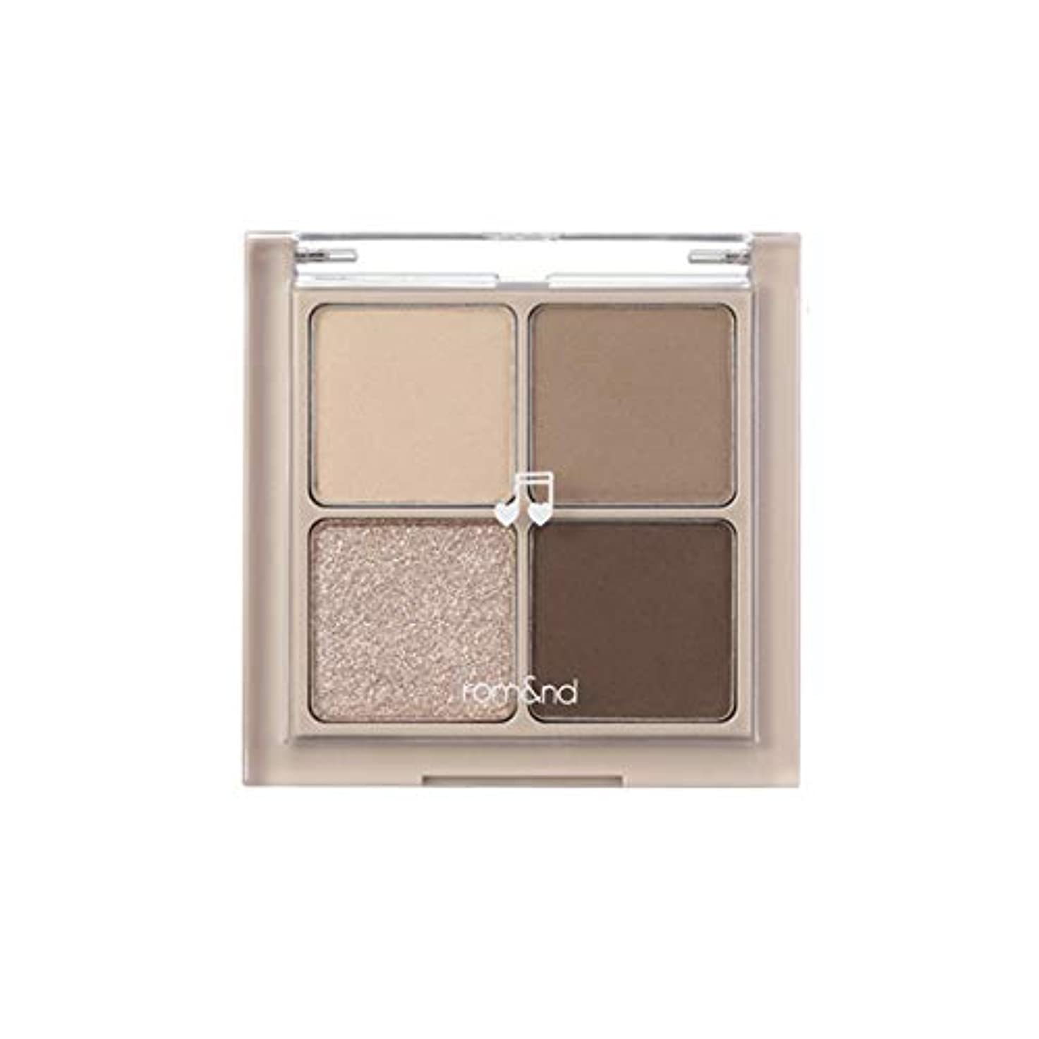 推論出身地対処するrom&nd BETTER THAN EYES Eyeshadow Palette 4色のアイシャドウパレット # M2 DRY buckwheat flower(並行輸入品)