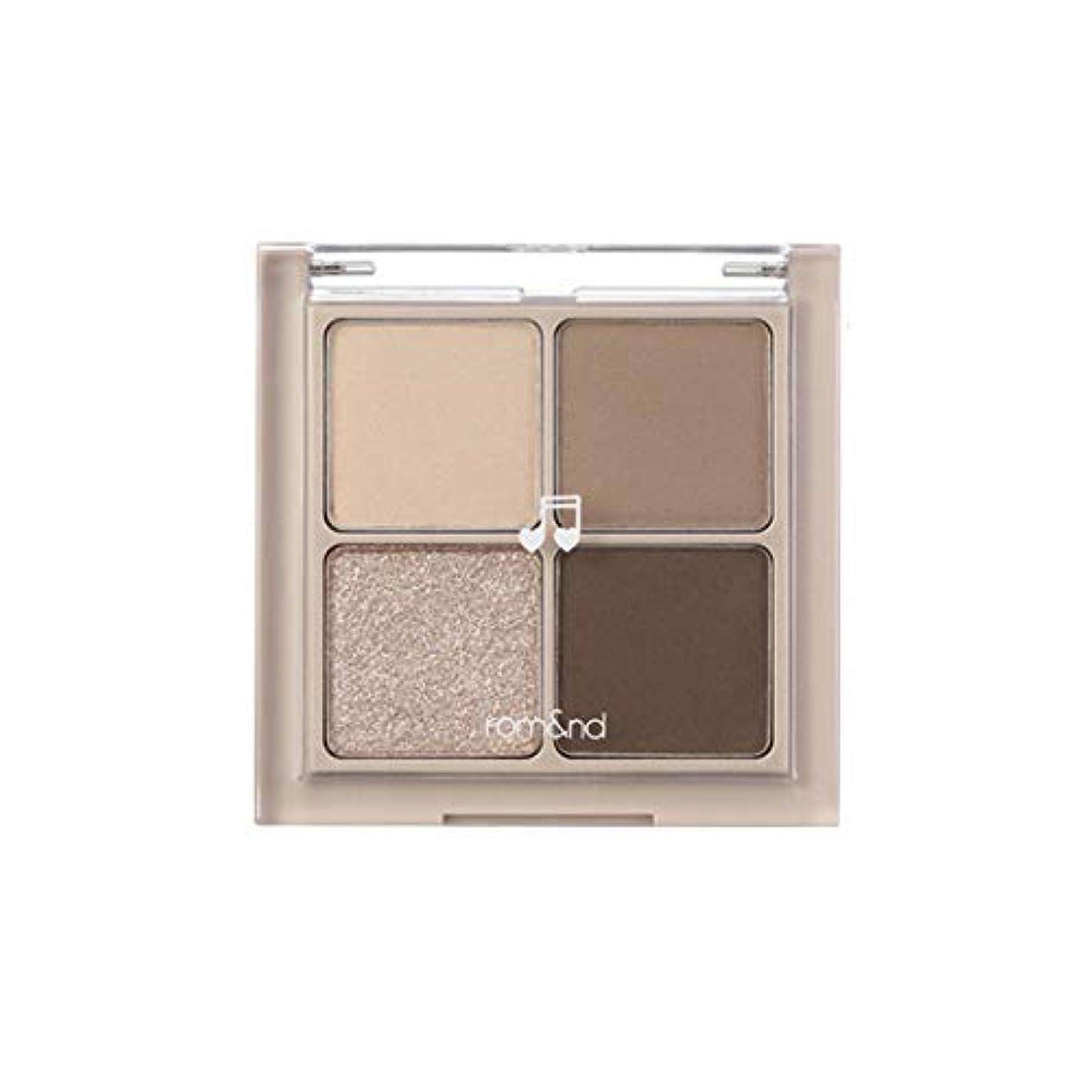 一緒滅びる宴会rom&nd BETTER THAN EYES Eyeshadow Palette 4色のアイシャドウパレット # M2 DRY buckwheat flower(並行輸入品)