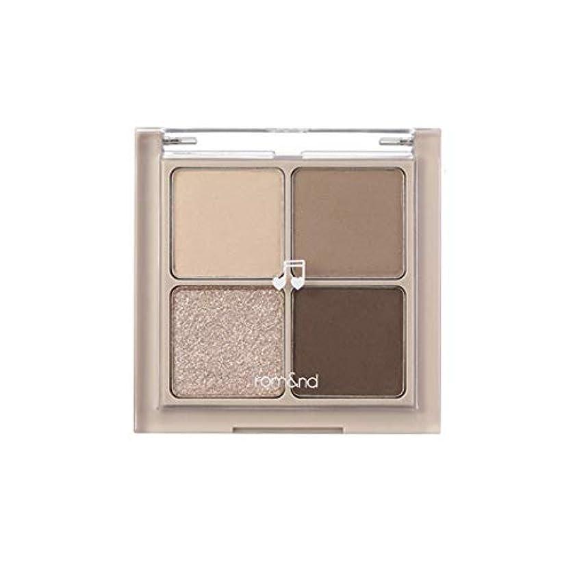 午後フロンティア敬意を表するrom&nd BETTER THAN EYES Eyeshadow Palette 4色のアイシャドウパレット # M2 DRY buckwheat flower(並行輸入品)
