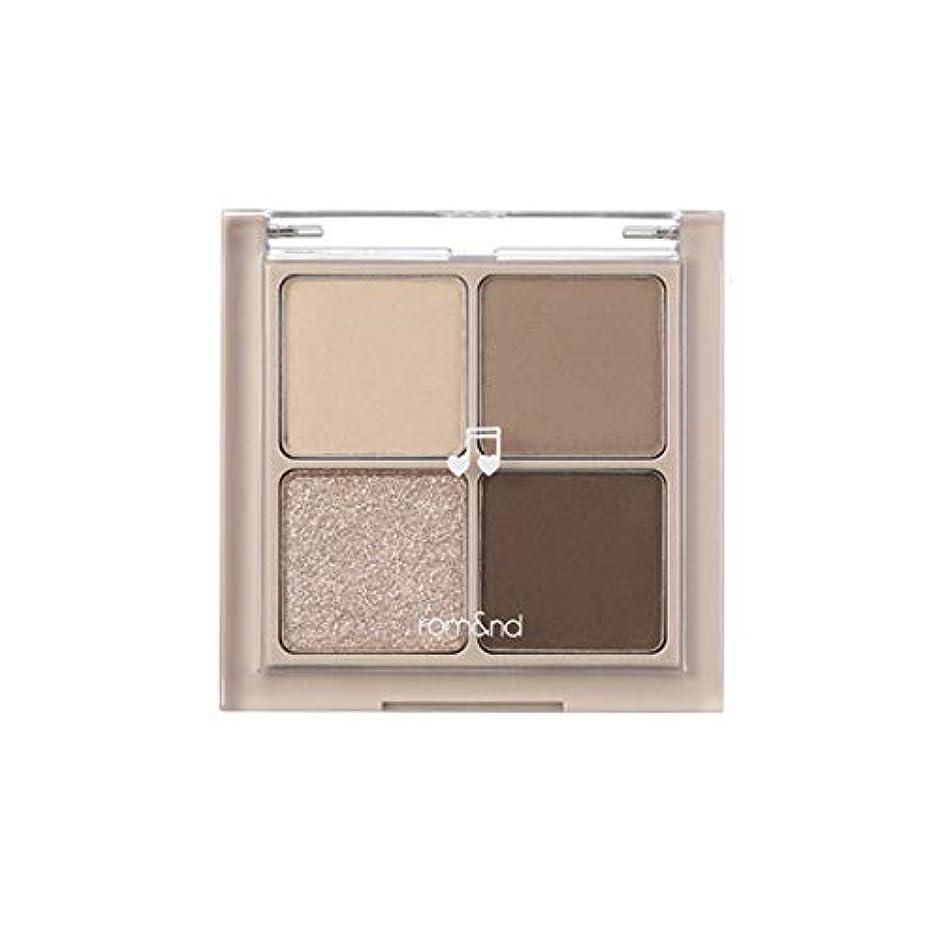 拘束するいたずら繁栄するrom&nd BETTER THAN EYES Eyeshadow Palette 4色のアイシャドウパレット # M2 DRY buckwheat flower(並行輸入品)