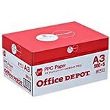 オフィスデポオリジナル コピー用紙 A3 2500枚 ハイホワイトプラス 1箱(500枚×5冊)
