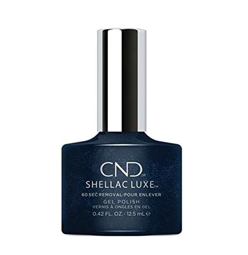 展示会ロマンスさようならCND Shellac Luxe - Midnight Swim - 12.5 ml / 0.42 oz