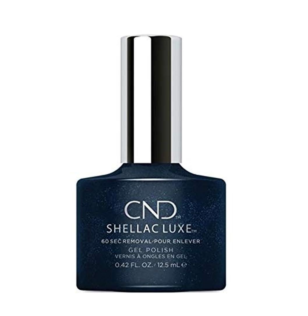 着る路地議論するCND Shellac Luxe - Midnight Swim - 12.5 ml / 0.42 oz