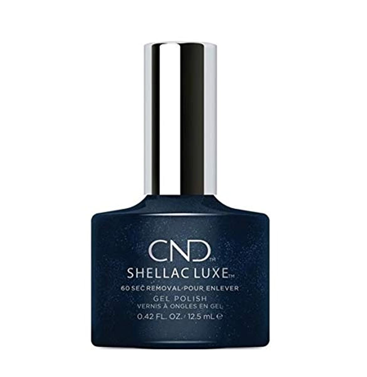 きらめき勧告幸福CND Shellac Luxe - Midnight Swim - 12.5 ml / 0.42 oz