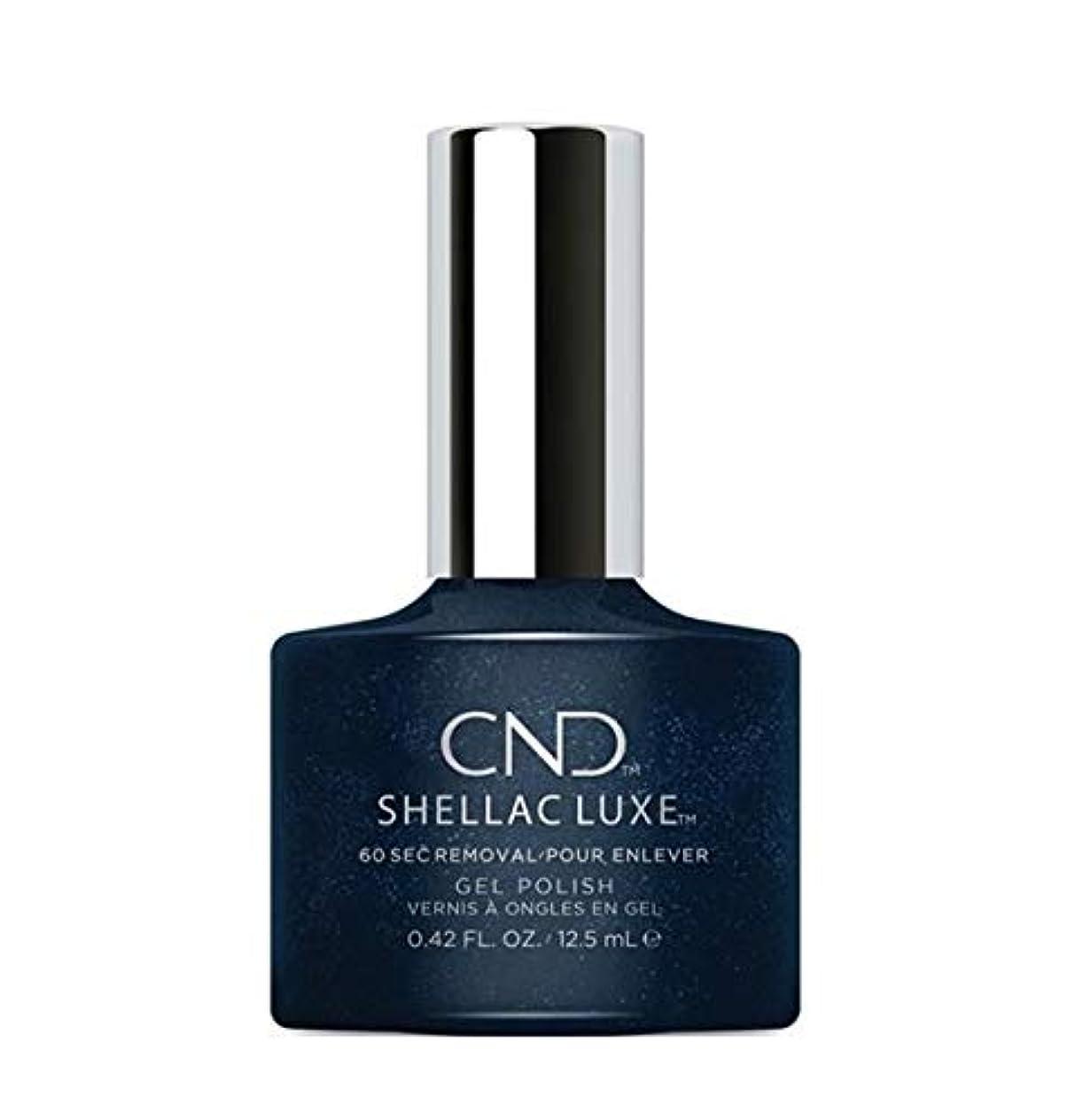 スチュアート島ロードされたトチの実の木CND Shellac Luxe - Midnight Swim - 12.5 ml / 0.42 oz