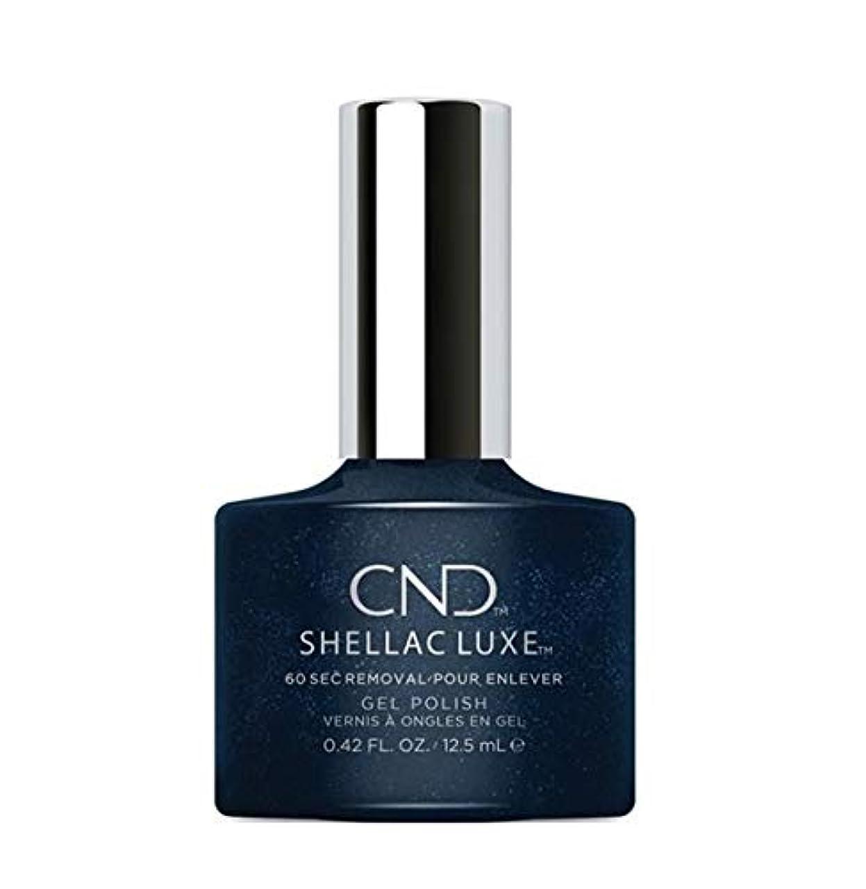 ストロークに対してボンドCND Shellac Luxe - Midnight Swim - 12.5 ml / 0.42 oz